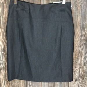 NWT! Express gray pencil skirt, natural waist